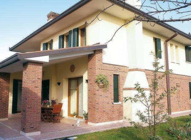 Pietre e mattoni naturali verona edilvetta for Rivestimento in mattoni per case