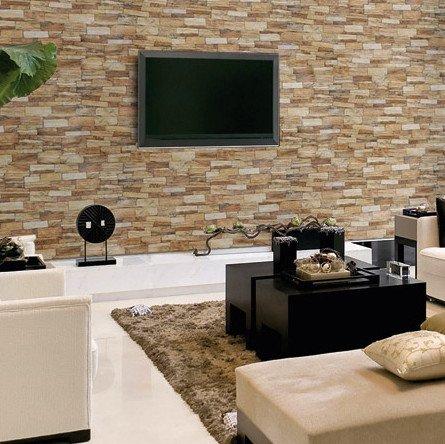 Pietra ricostruita rivestimenti in mattoni sassi - Sassi decorativi per interni ...
