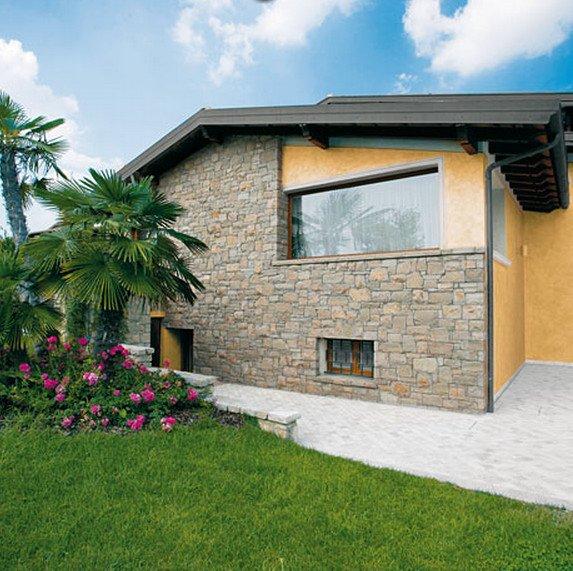 ... Bergamo Beige Credaro Biopietra da rivestimento interno ed esterno
