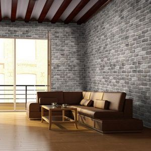 Pietra finta-ricostruita Mattone Antico Cromite Biopietra da rivestimento interno ed esterno
