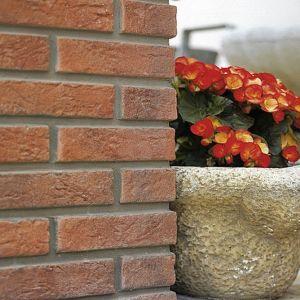 Pietra finta-ricostruita Slimfix Arancio Biopietra da rivestimento interno ed esterno