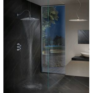 Colonna doccia Emisfero Tender Rain versione lampadario - Edilvetta Verona