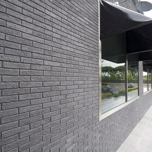 Pietra finta-ricostruita Slimfix nera Biopietra da rivestimento interno ed esterno - Edilvetta Verona