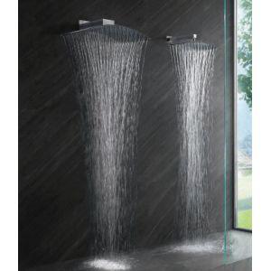 Colonna doccia a parete Pluvia Tender Rain dal design concavo - Edilvetta Verona