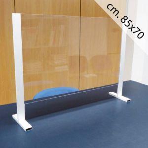 Barriera Protettiva Anticontagio in Acrilico cm. 85x70