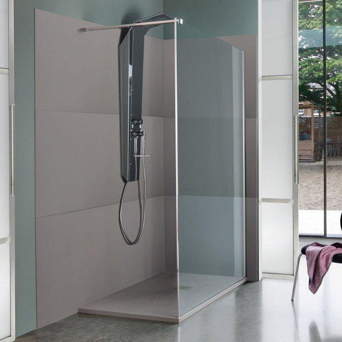 Pannello rivestimento pareti bagno e doccia design moderno