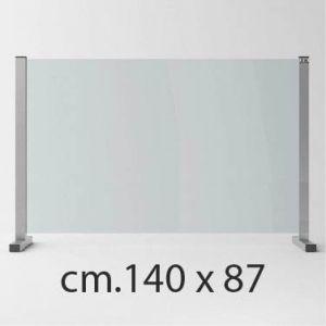 Barriera Protettiva in Cristallo Temperato Anti Covid cm.140 x 87
